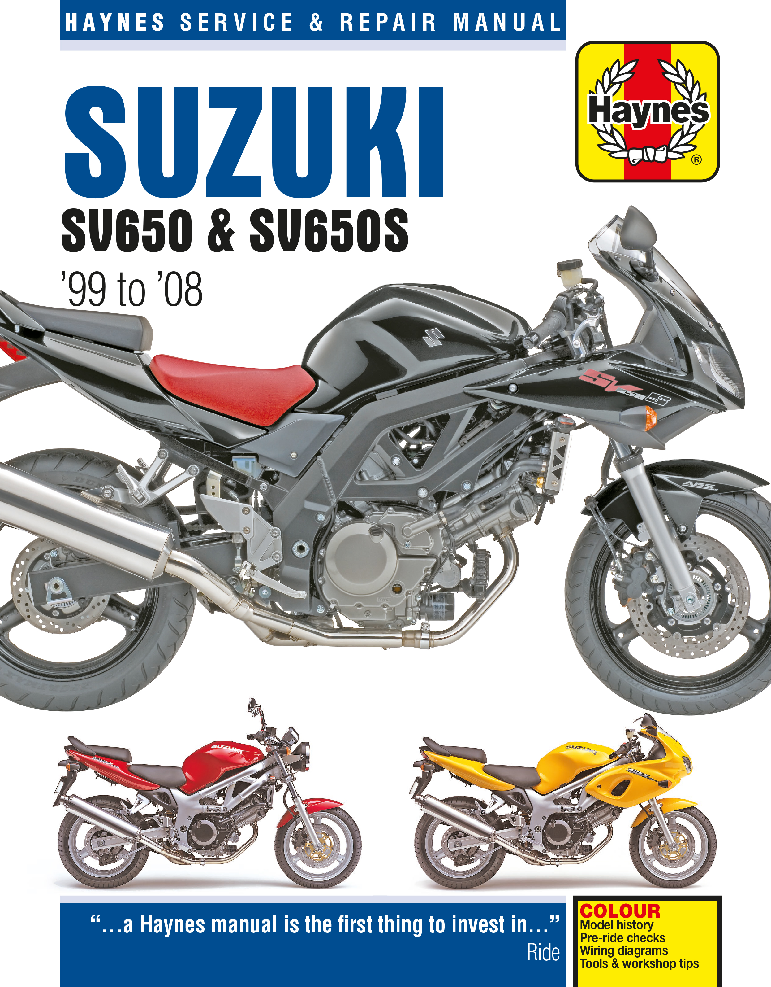 Enlarge Suzuki SV650 ...
