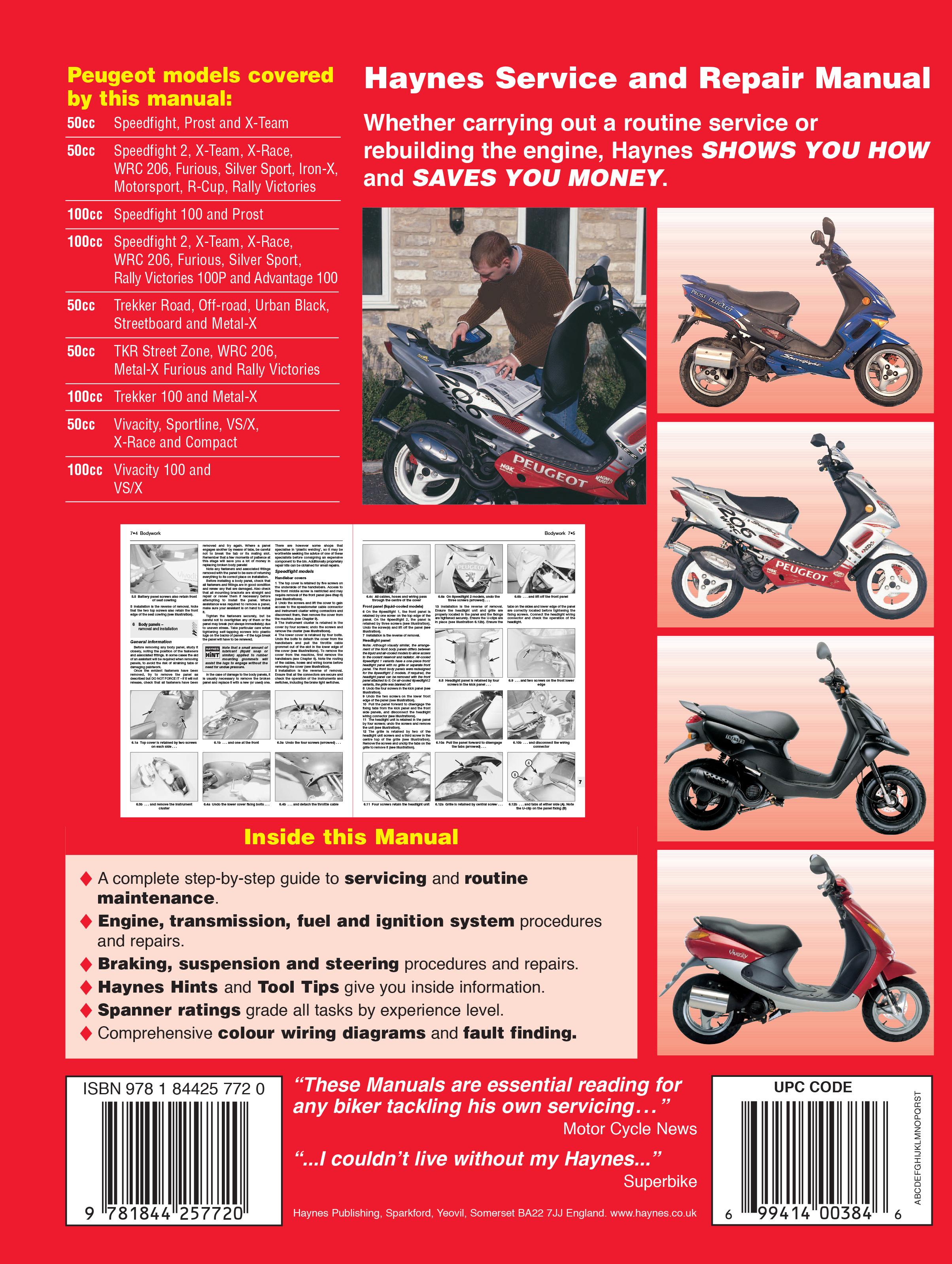 50cc scooter repair manual pdf