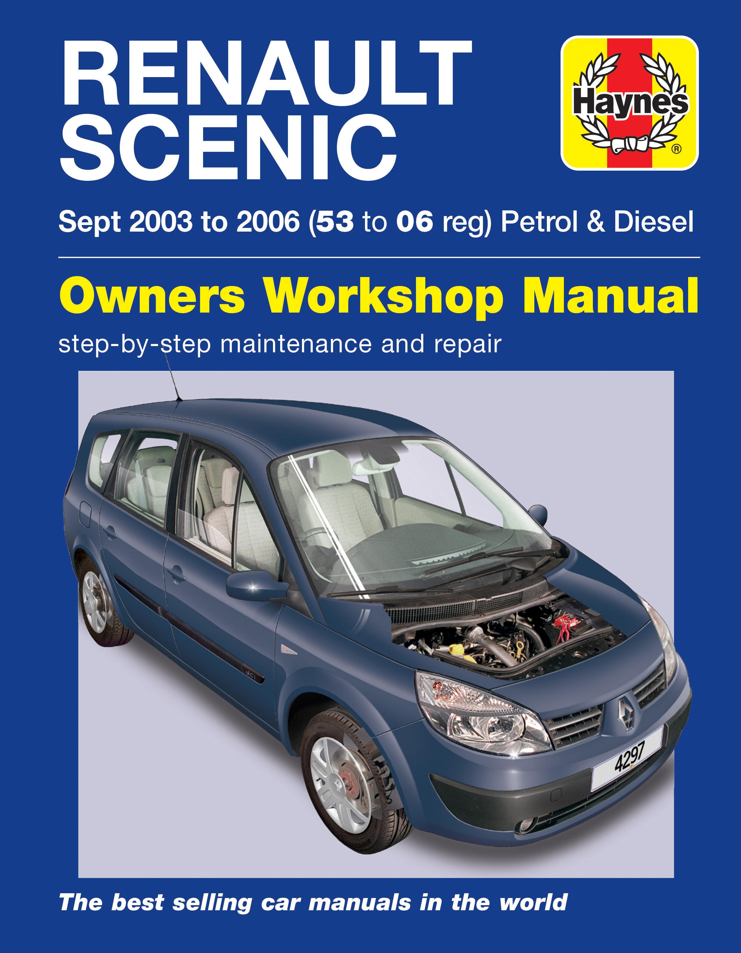 Renault Megane Scenic (2003 - 2006) Repair Manuals