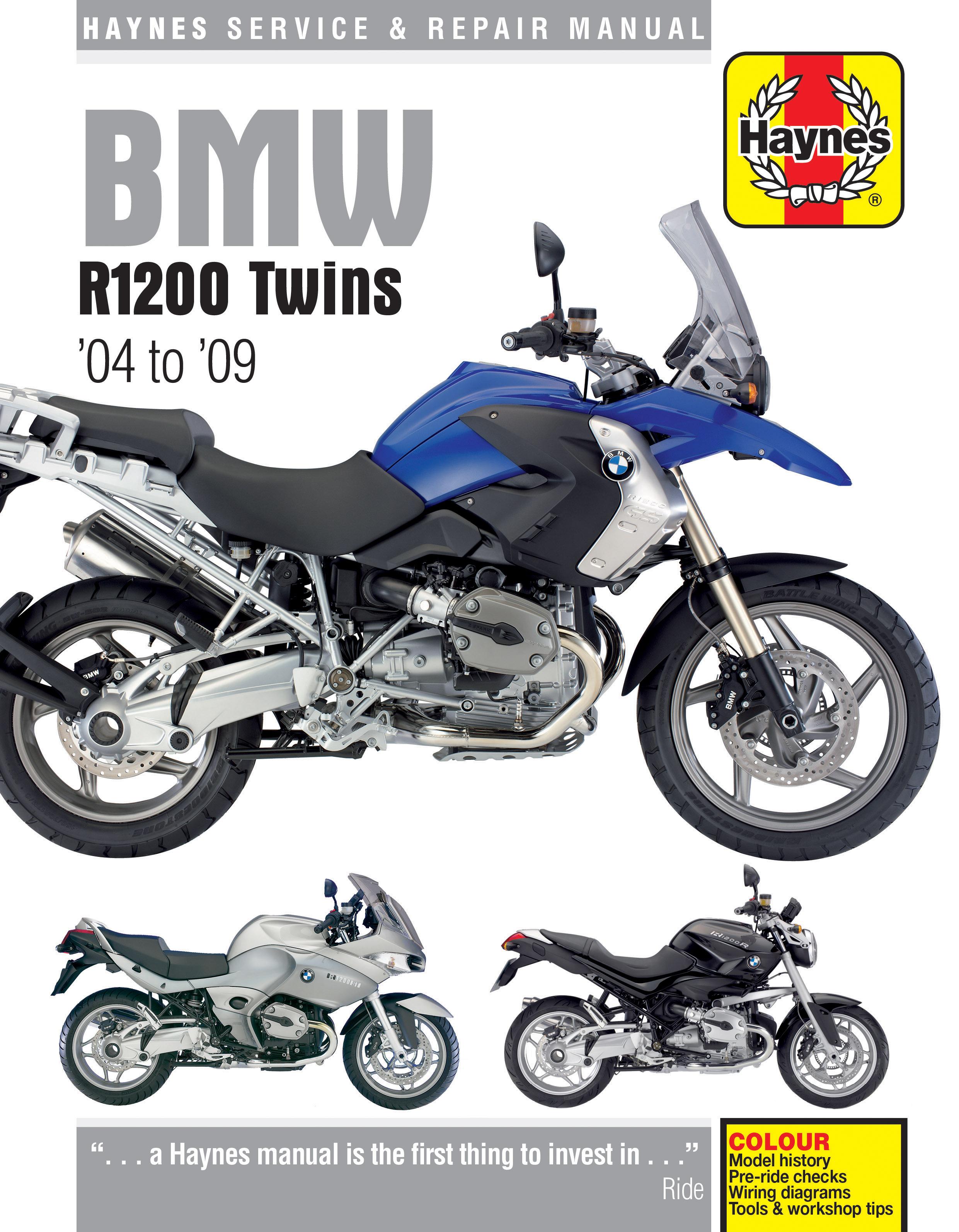 [ZTBE_9966]  R1200GS | Haynes Publishing | 2010 Bmw R1200rt Wiring Diagram |  | Haynes Manuals