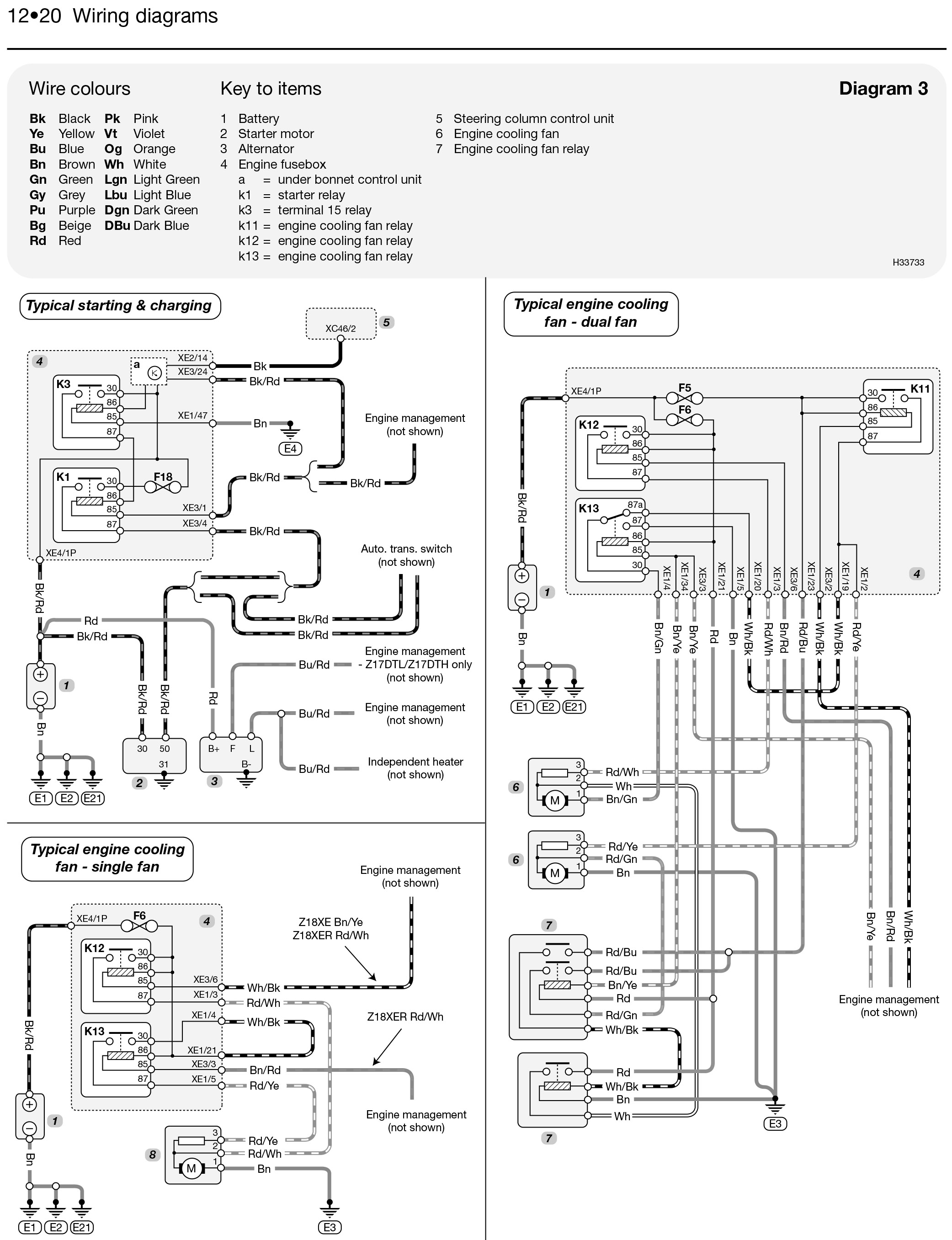 saturn astra wiring diagram repair machine Saturn Relay Wiring Diagram