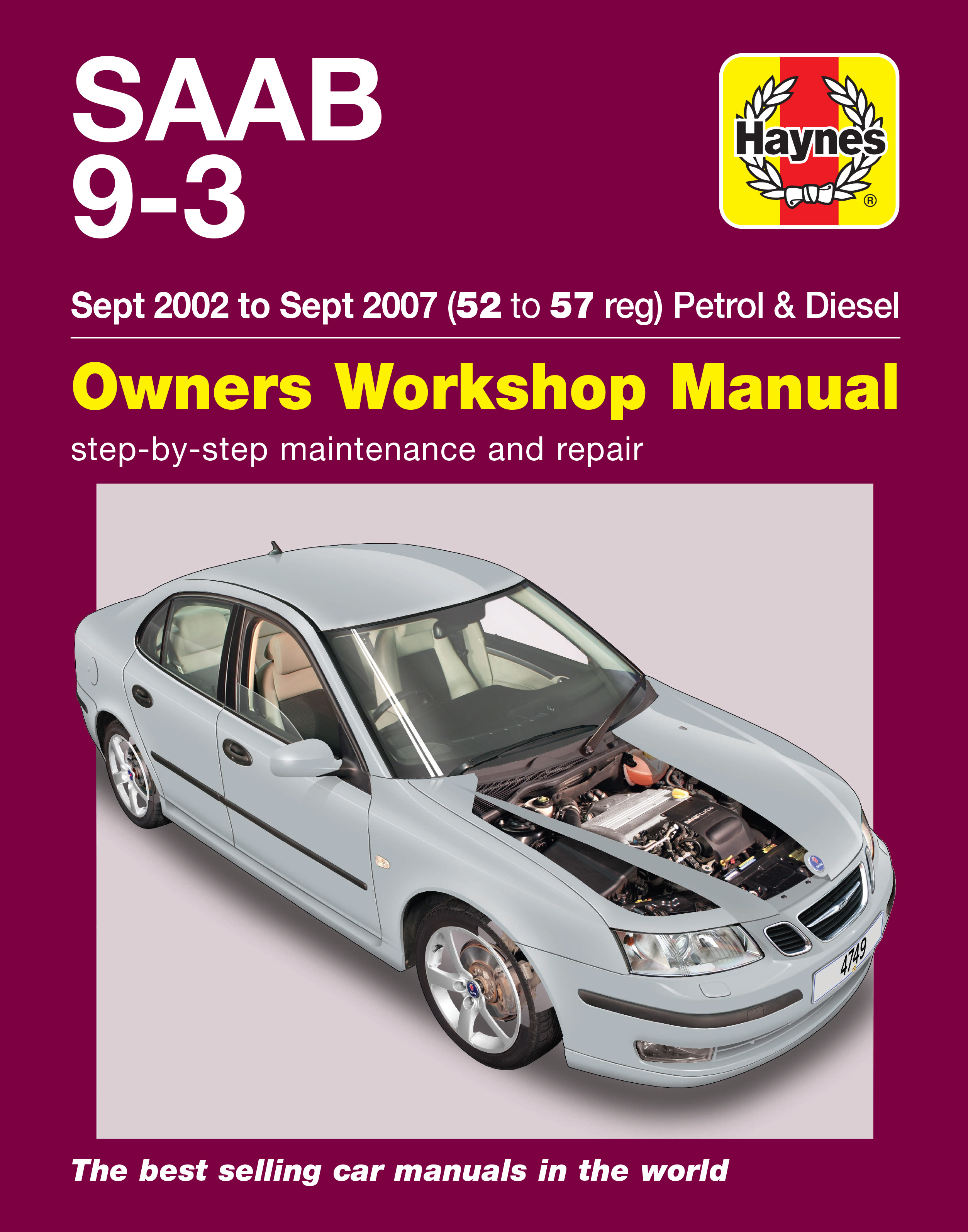 Saab 9-3 (2002 - 2007) Repair Manuals  Saab Wiring Diagrams on