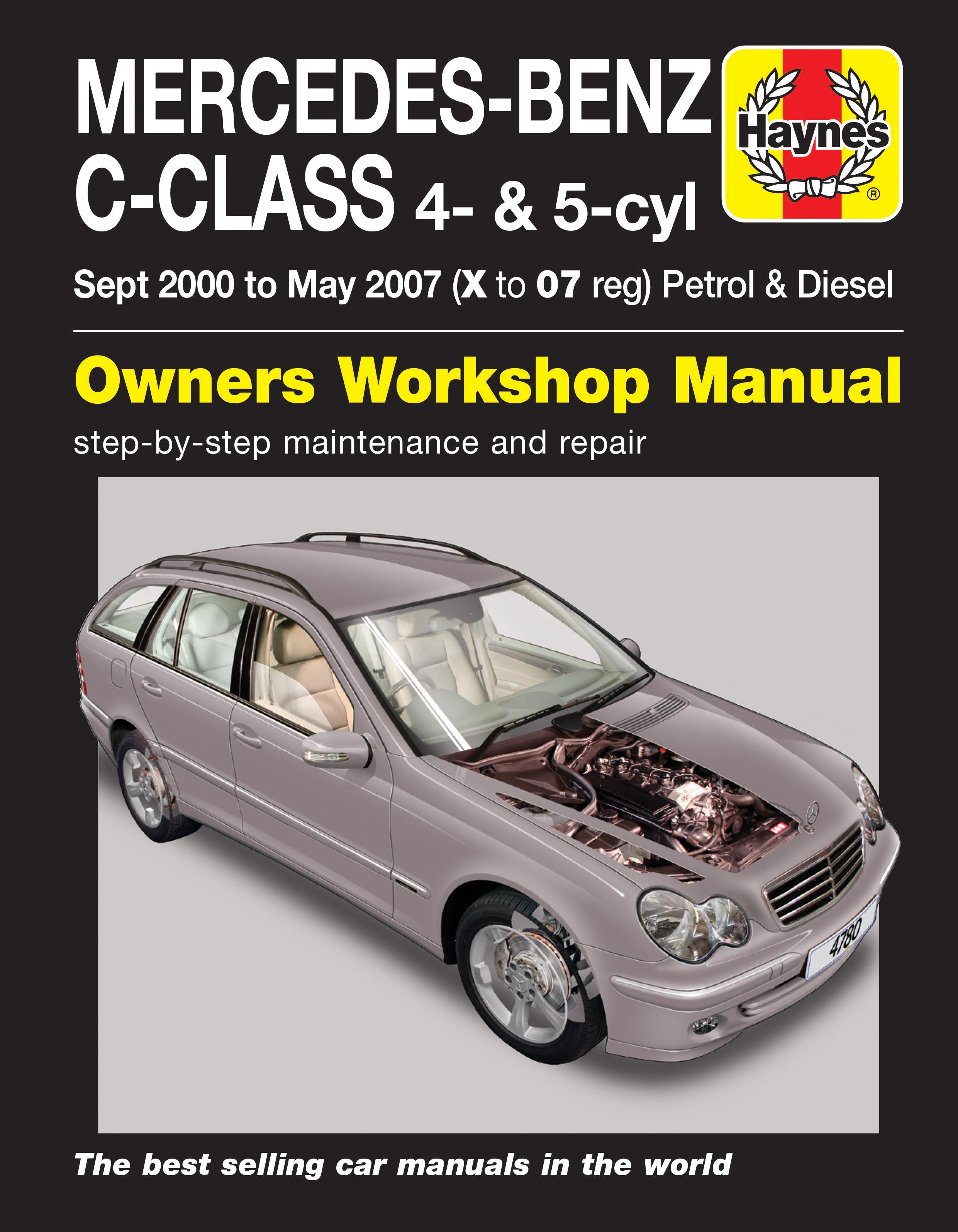 Mercedes-Benz C-Class (2000 - 2007) Repair Manuals