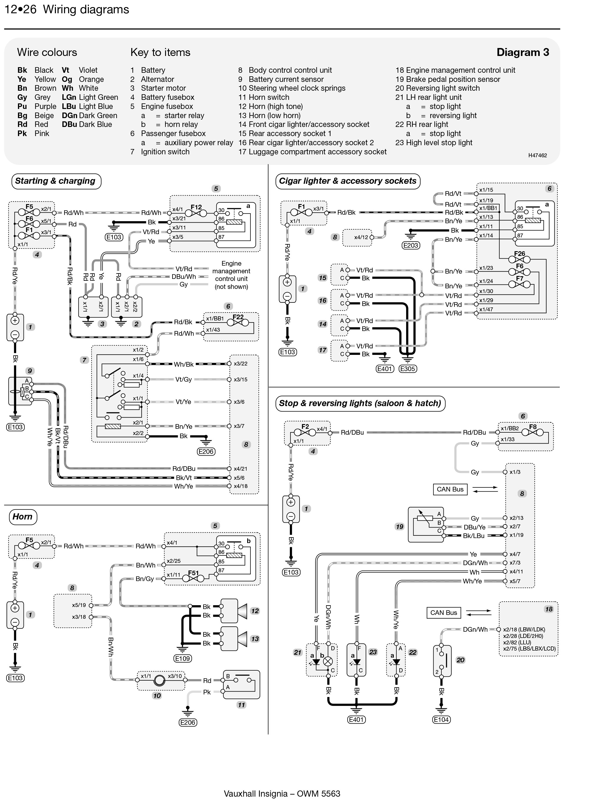 Wiring Diagram Vauxhall Vectra B Library Opel Astra Engine Insignia Haynes Publishing Rh Com Rear Light