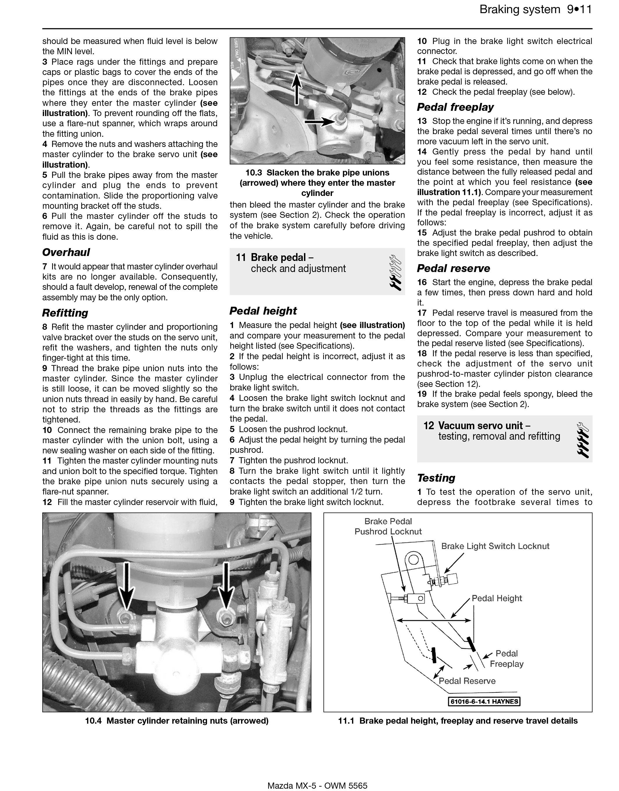 Mx 5 Haynes Publishing 88 Acura Tail Light Wiring Diagram Free Picture Scroll Right