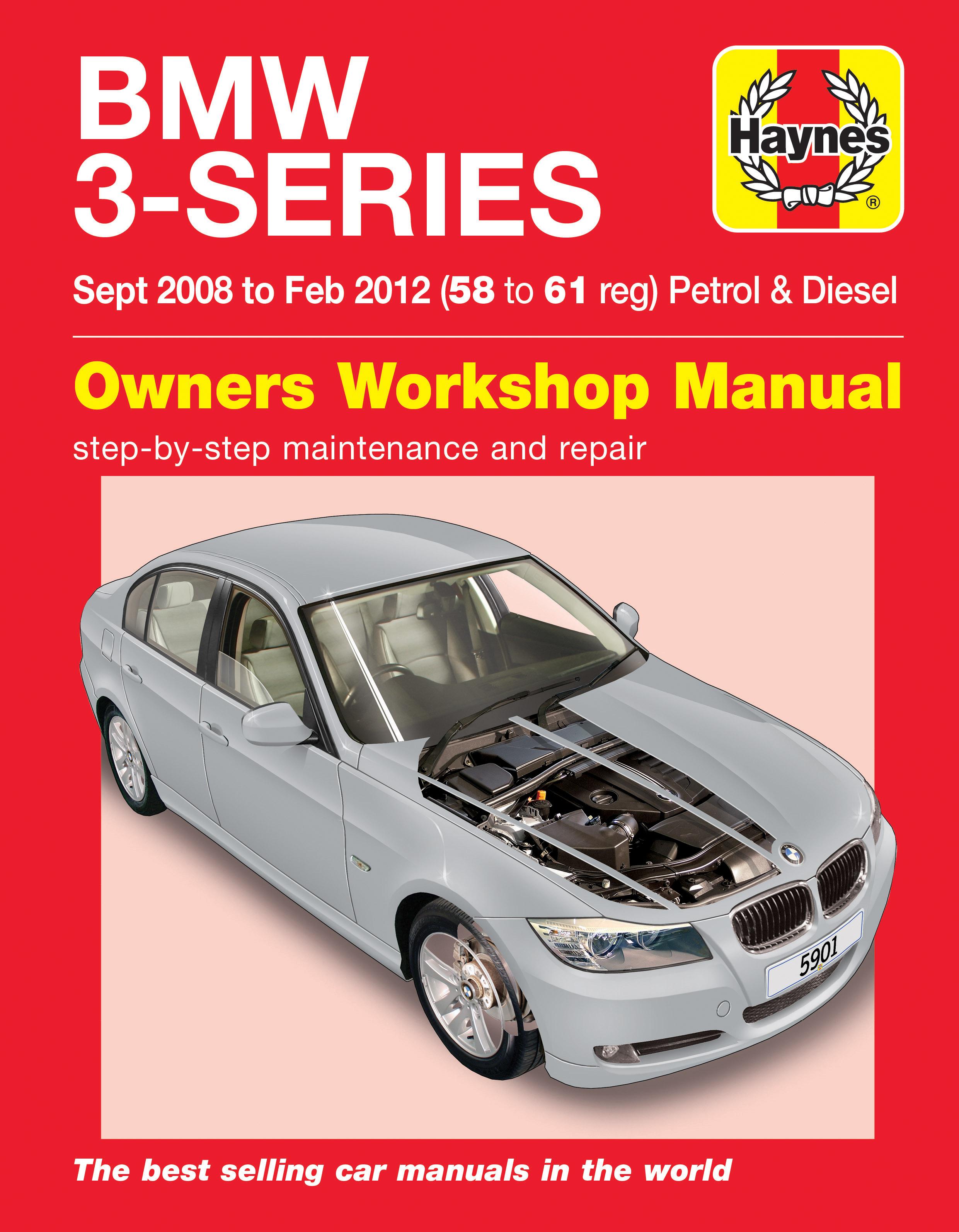 Bmw 3 series sept 08 to feb 12 haynes repair manual haynes enlarge bmw sciox Gallery