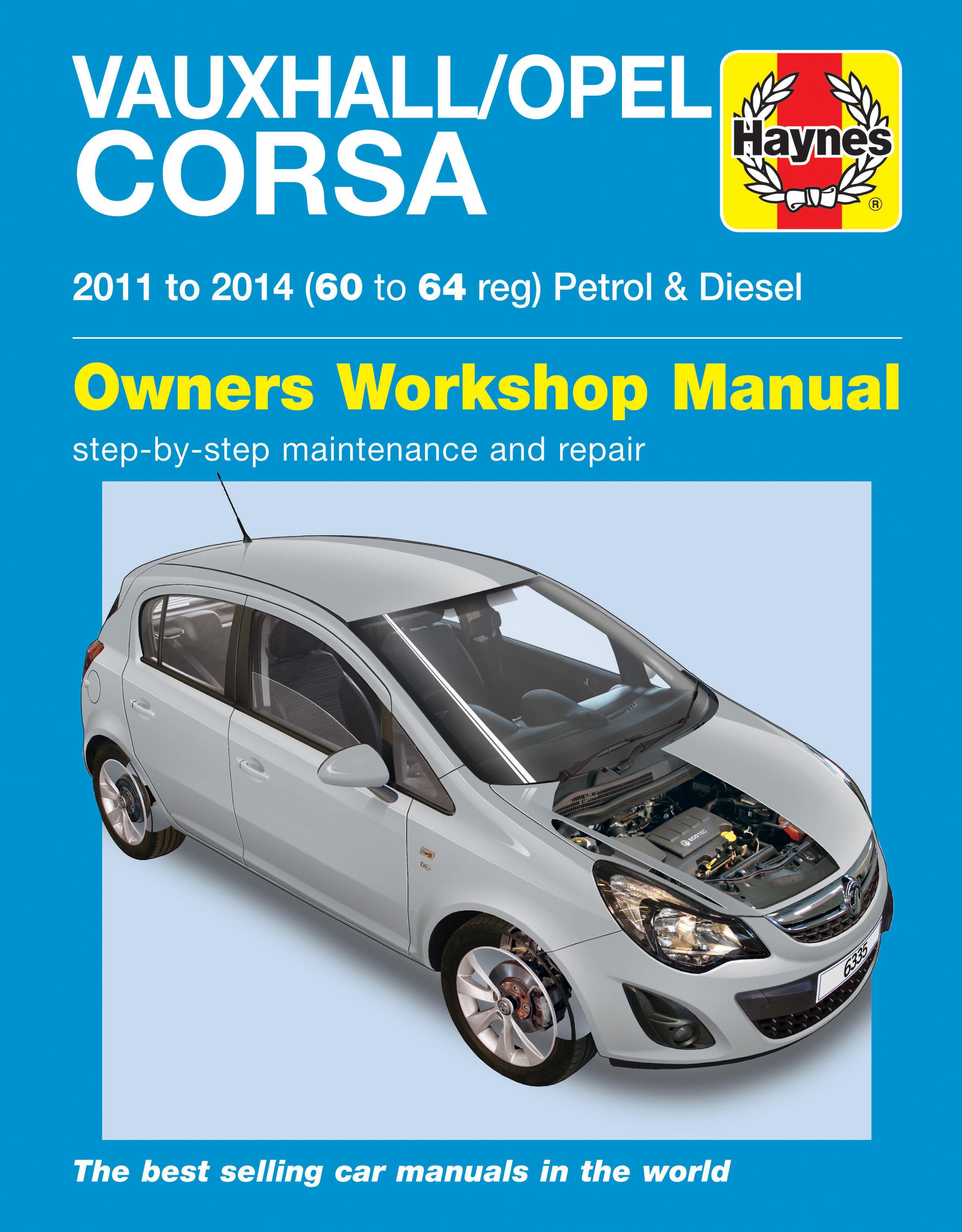 vauxhall opel corsa petrol diesel 11 14 60 to 64 haynes repair rh haynes com opel corsa manual opel corsa manual de instrucciones