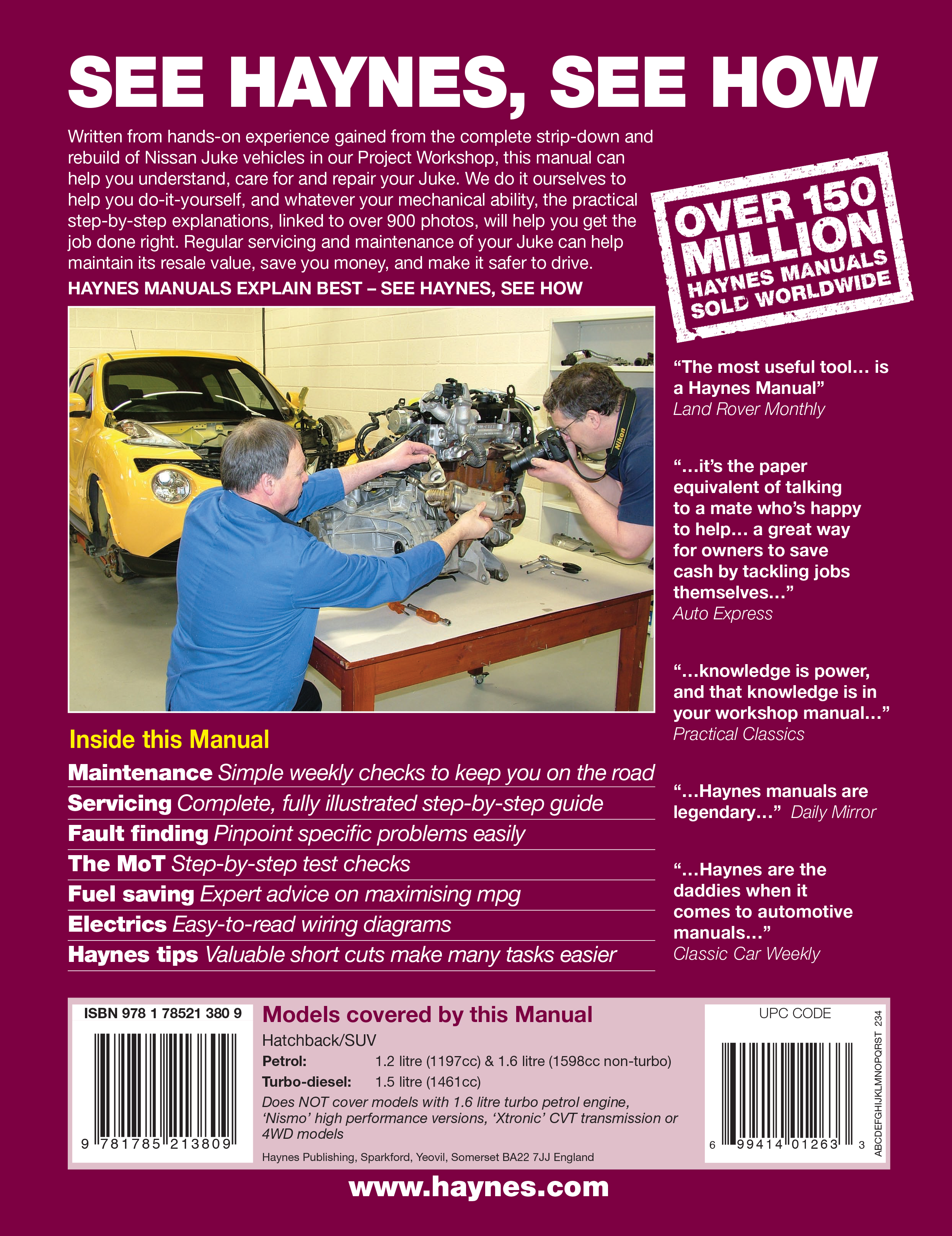 ... Array - juke haynes publishing rh haynes com scroll right Array -  nissan juke f15 2010 2014 workshop service repair manual ...