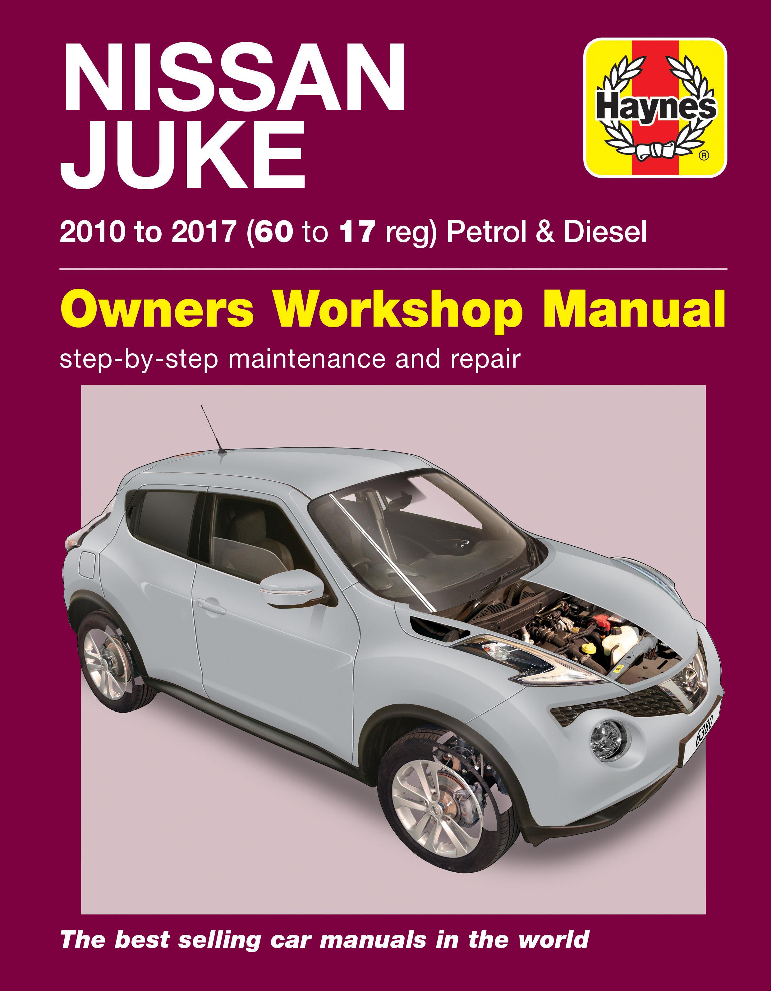 Enlarge Nissan Juke (10 - 17) Haynes Repair Manual