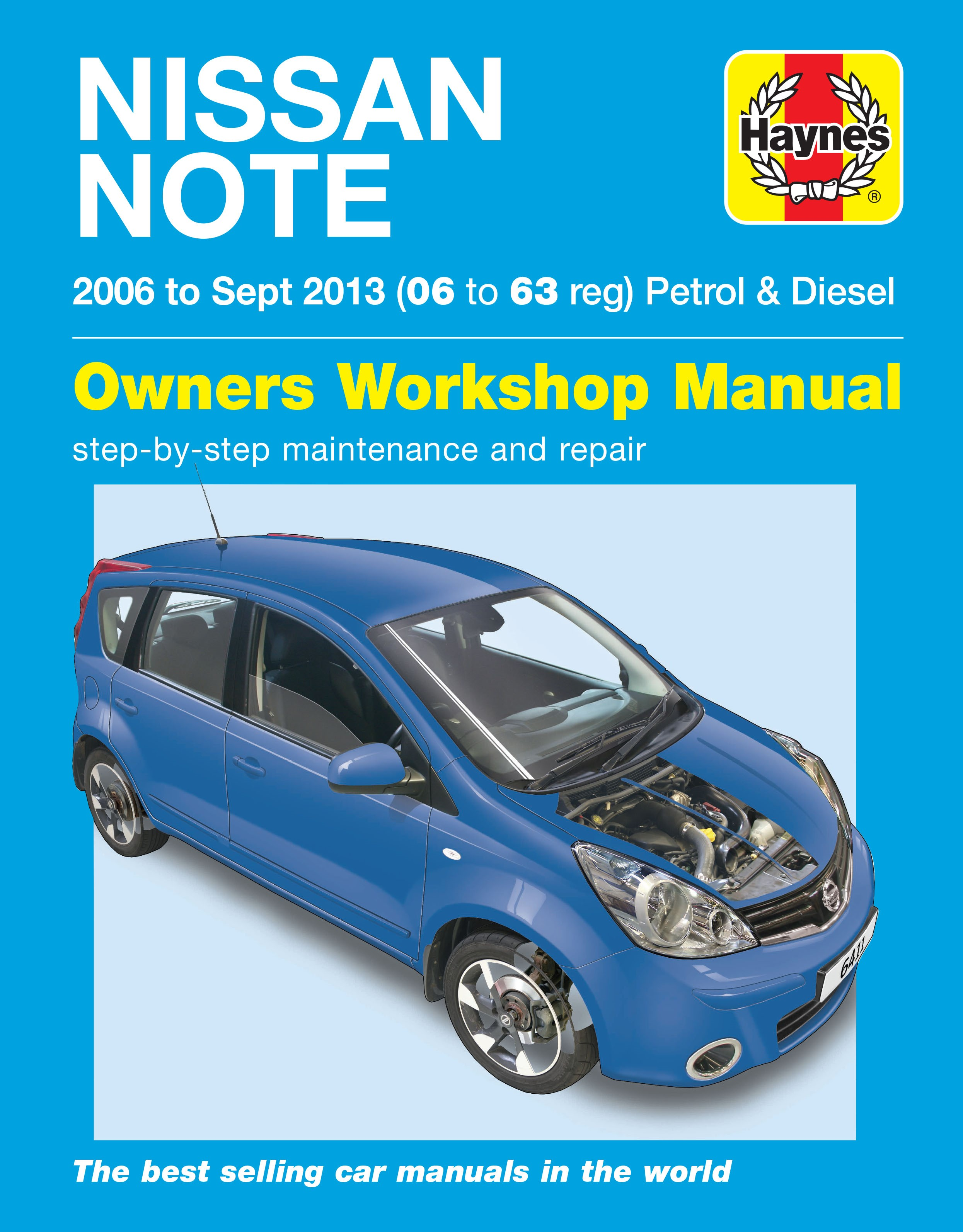 Nissan Note (2006 - 2013) Repair Manuals on