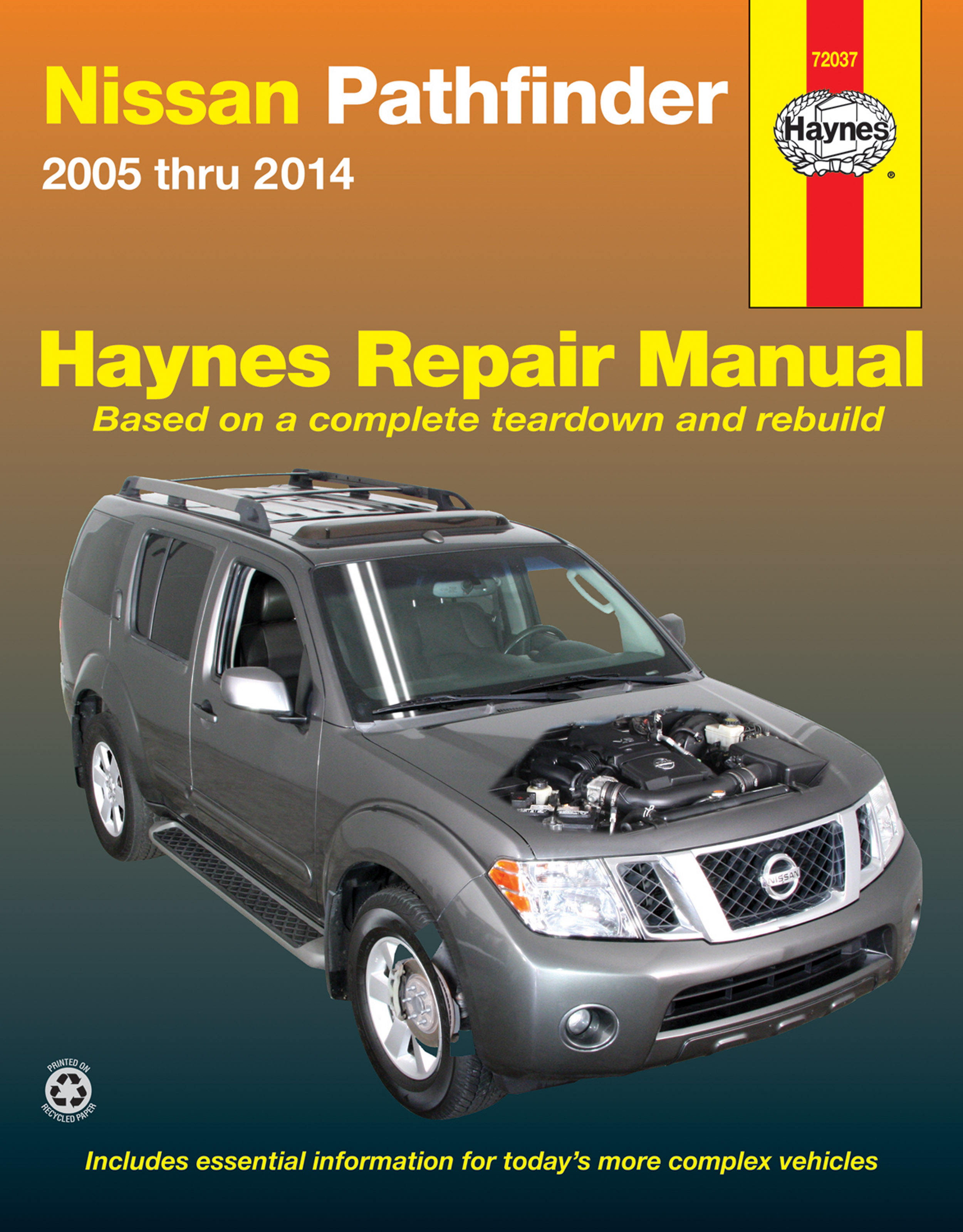 Enlarge Nissan Pathfinder (2005-2014) Haynes Repair Manual ...
