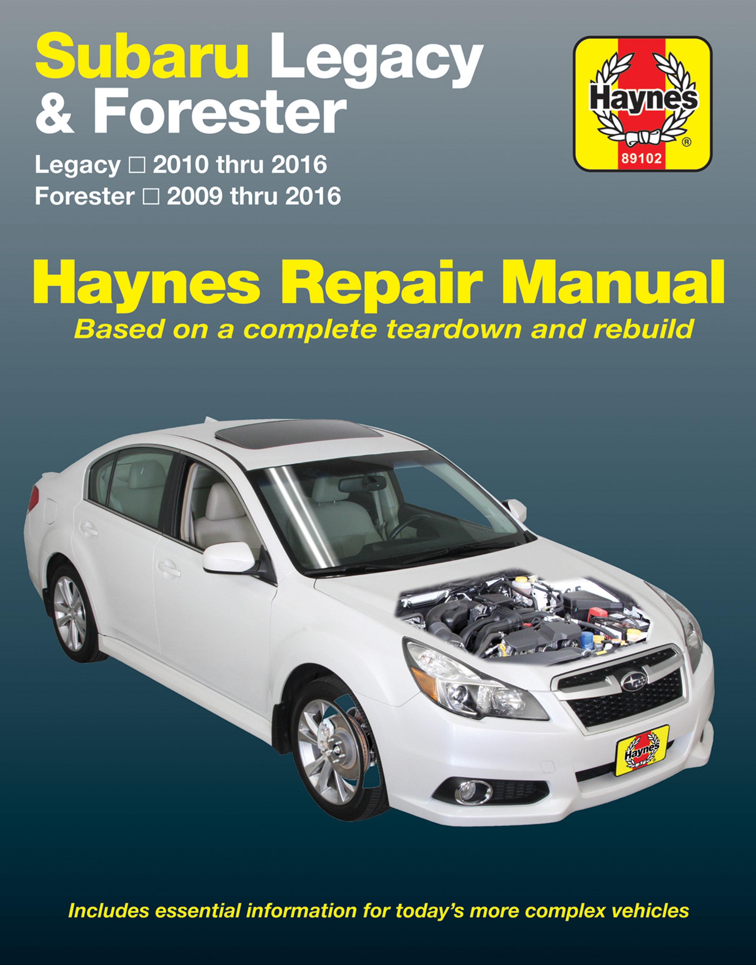 subaru legacy 10 16 forester 09 16 haynes repair manual usa rh haynes com  Haynes Repair Manuals Online Haynes Repair Manual Online View