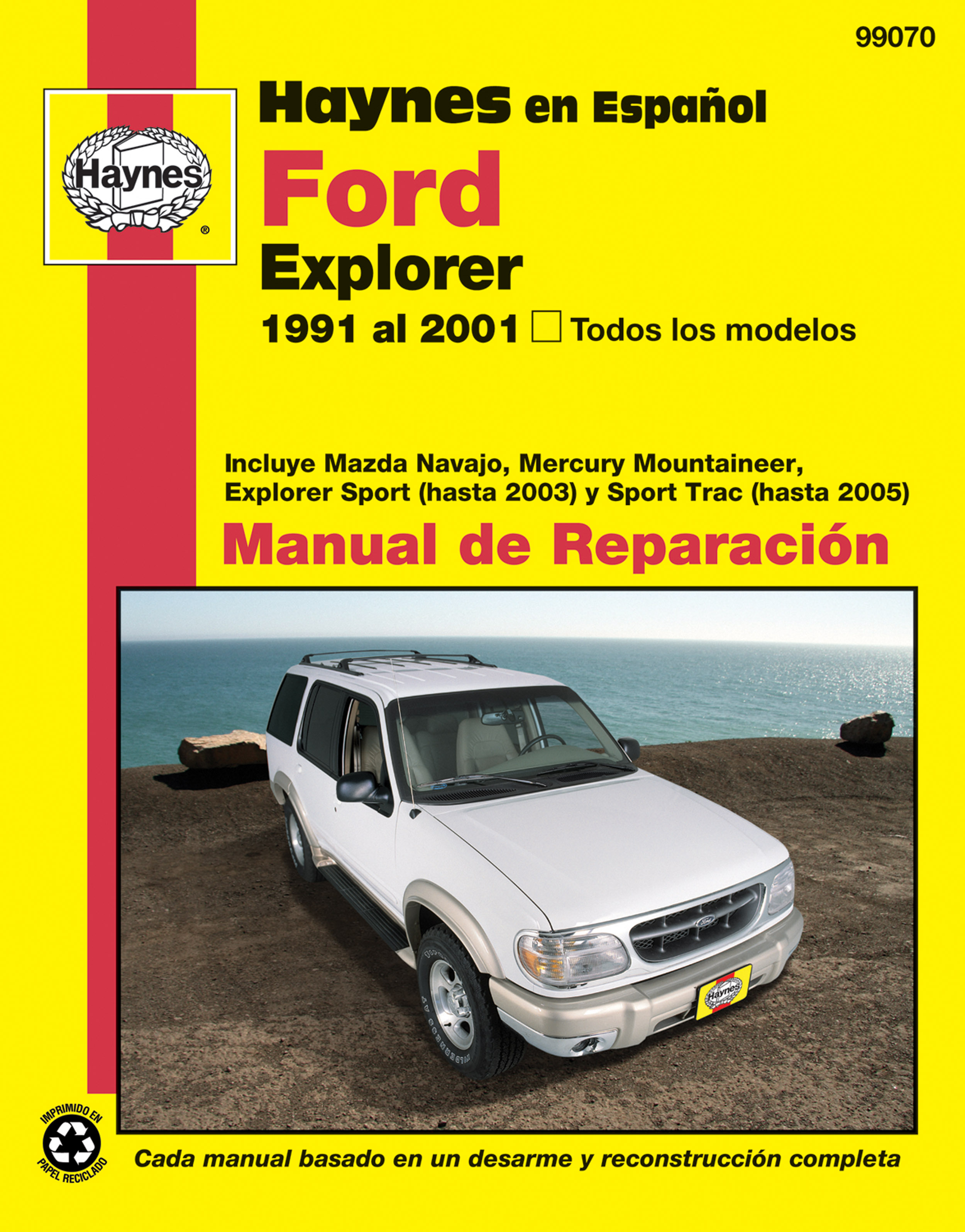 Enlarge Ford Explorer Haynes Manual de ...