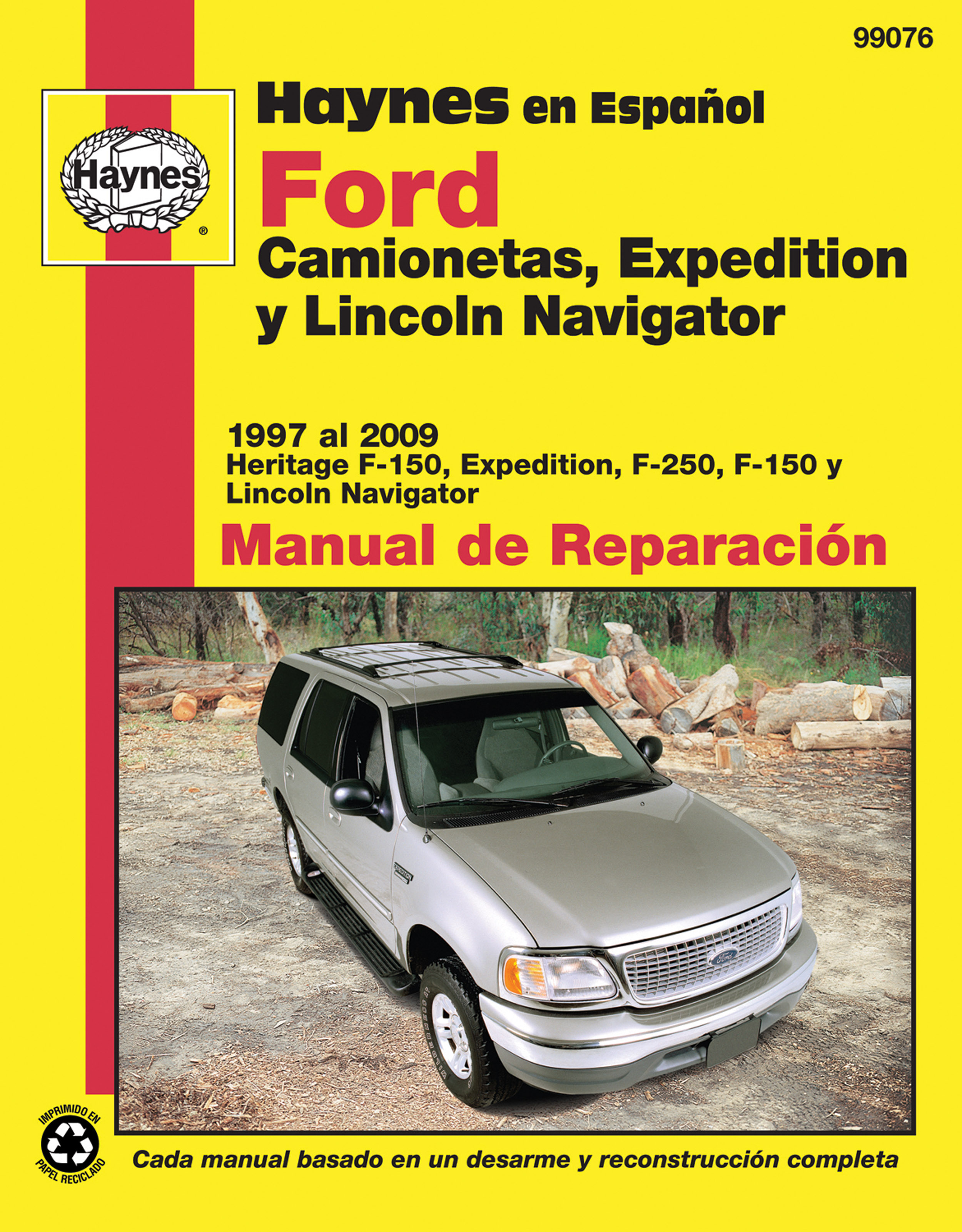 ford camionetas expedition y lincoln navigator ford f 150 1997 rh haynes  com manual ford expedition 1997 español ford expedition 1997 owners manual
