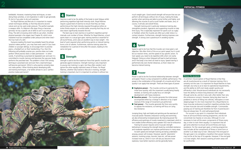 Royal Marines Fitness Manual | Haynes Publishing