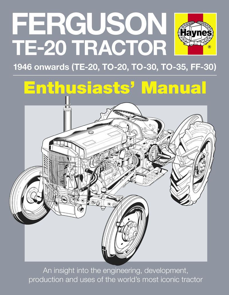 Wiring Diagram Te20 Ferguson Tractors Manual E Books T20