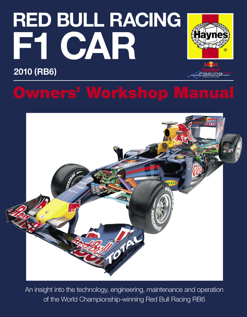 Red Bull Racing F1 Car Manual