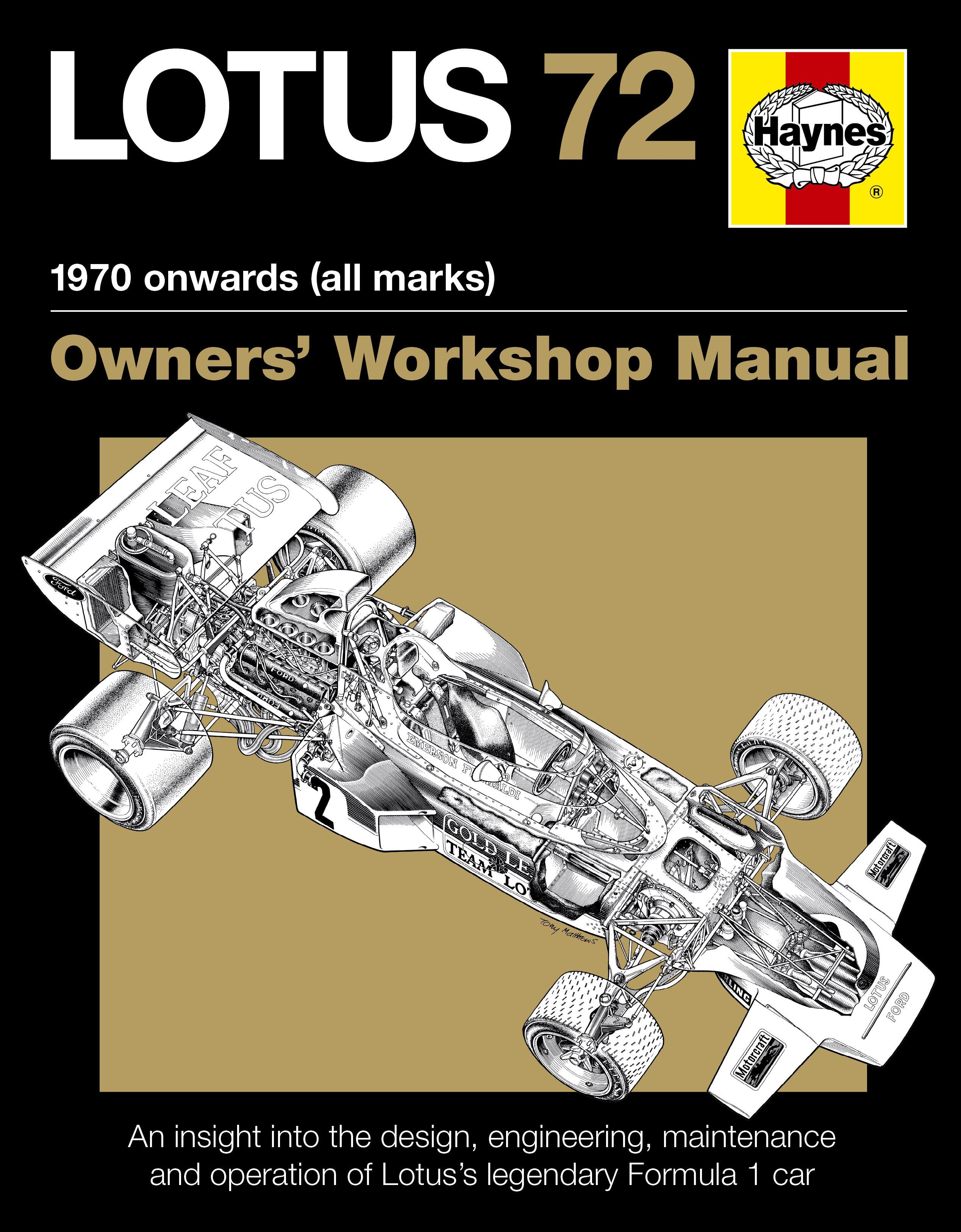 Lotus 72 Owners Manual (paperback)