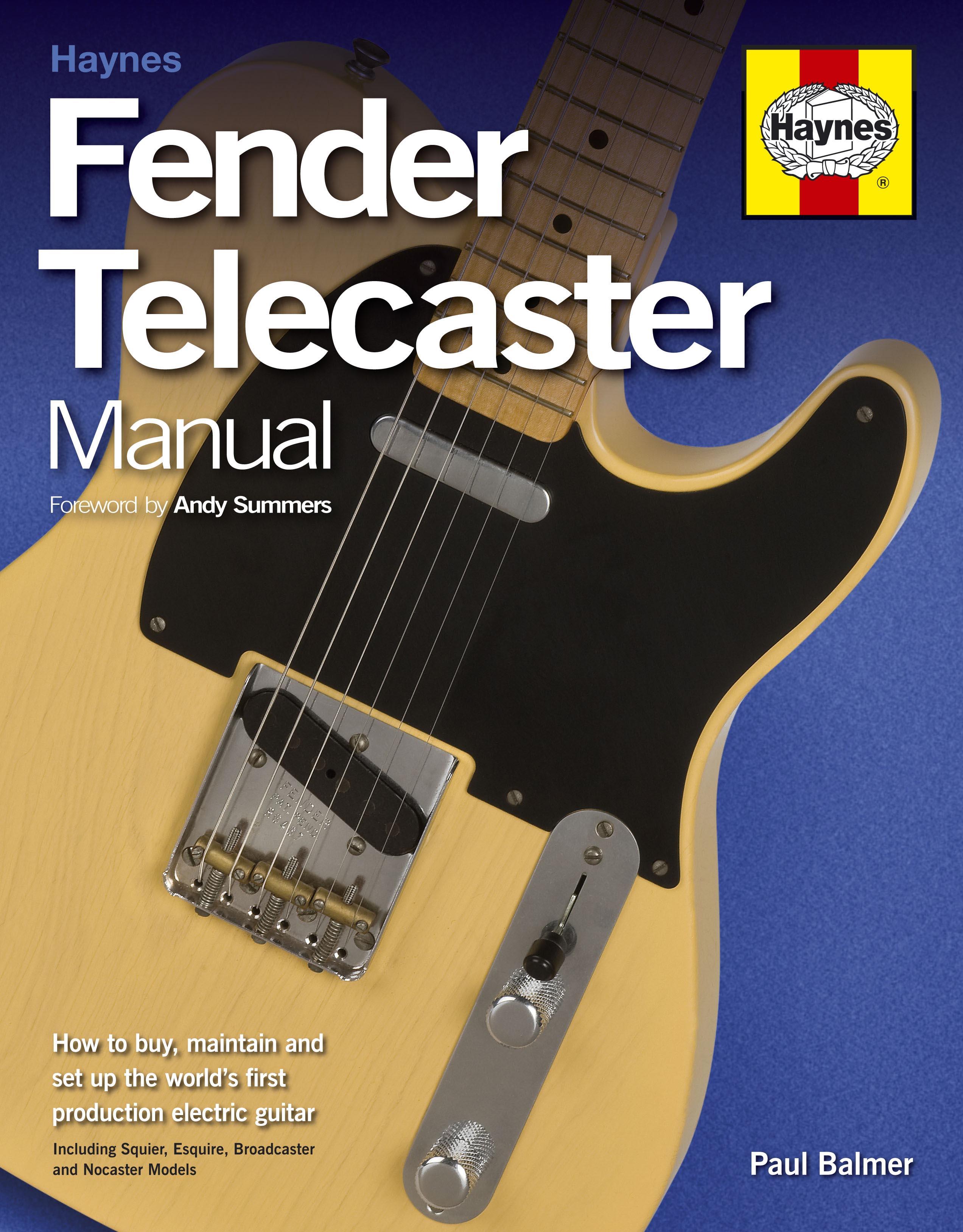 fender telecaster manual haynes publishing rh haynes com Fender Squier Stratocaster Squier by Fender Acoustic Guitar