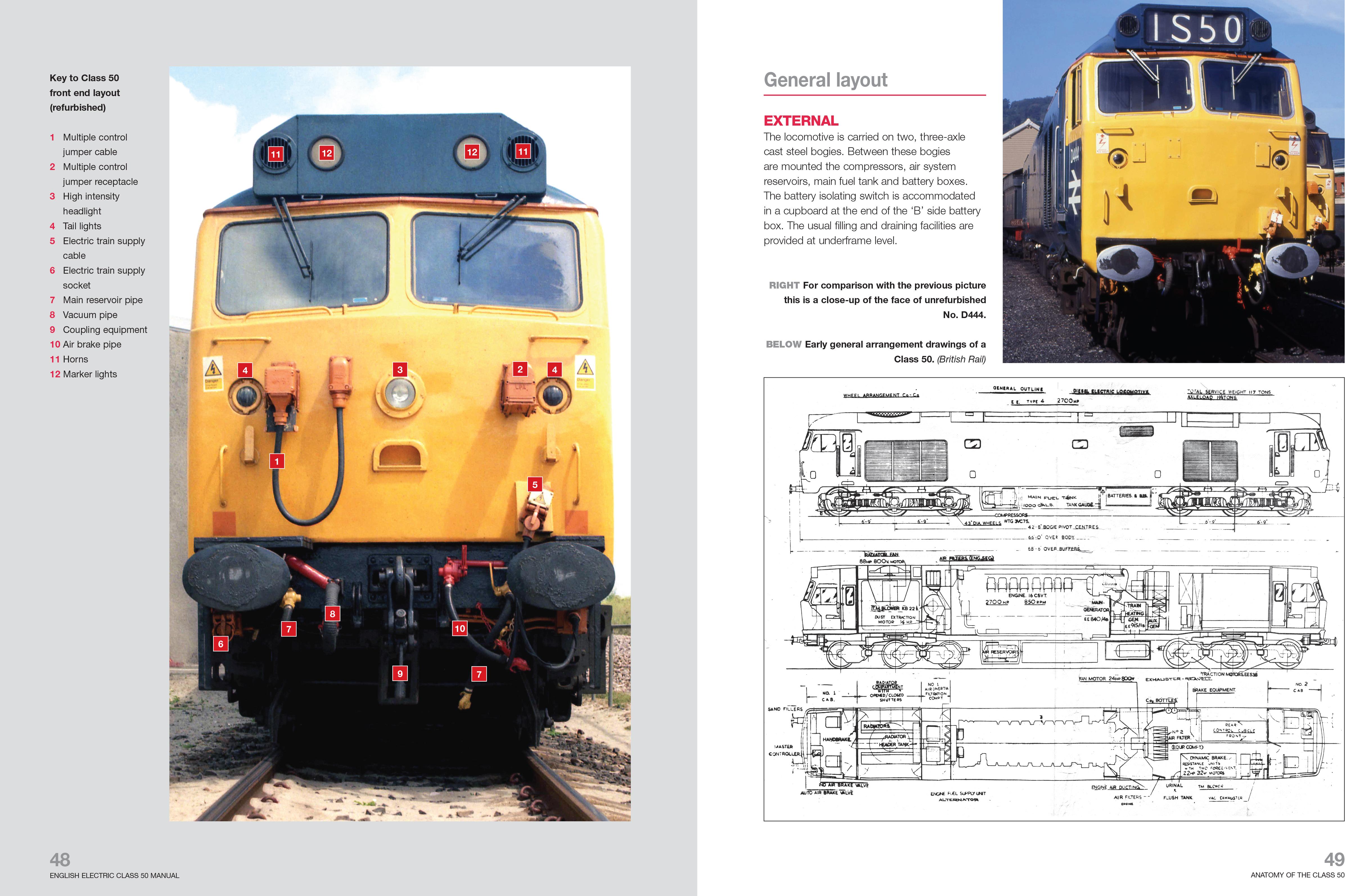 english electric class 50 diesel locomotive owners workshop manual rh haynes com GE Diesel Locomotives Inside a Diesel Locomotive