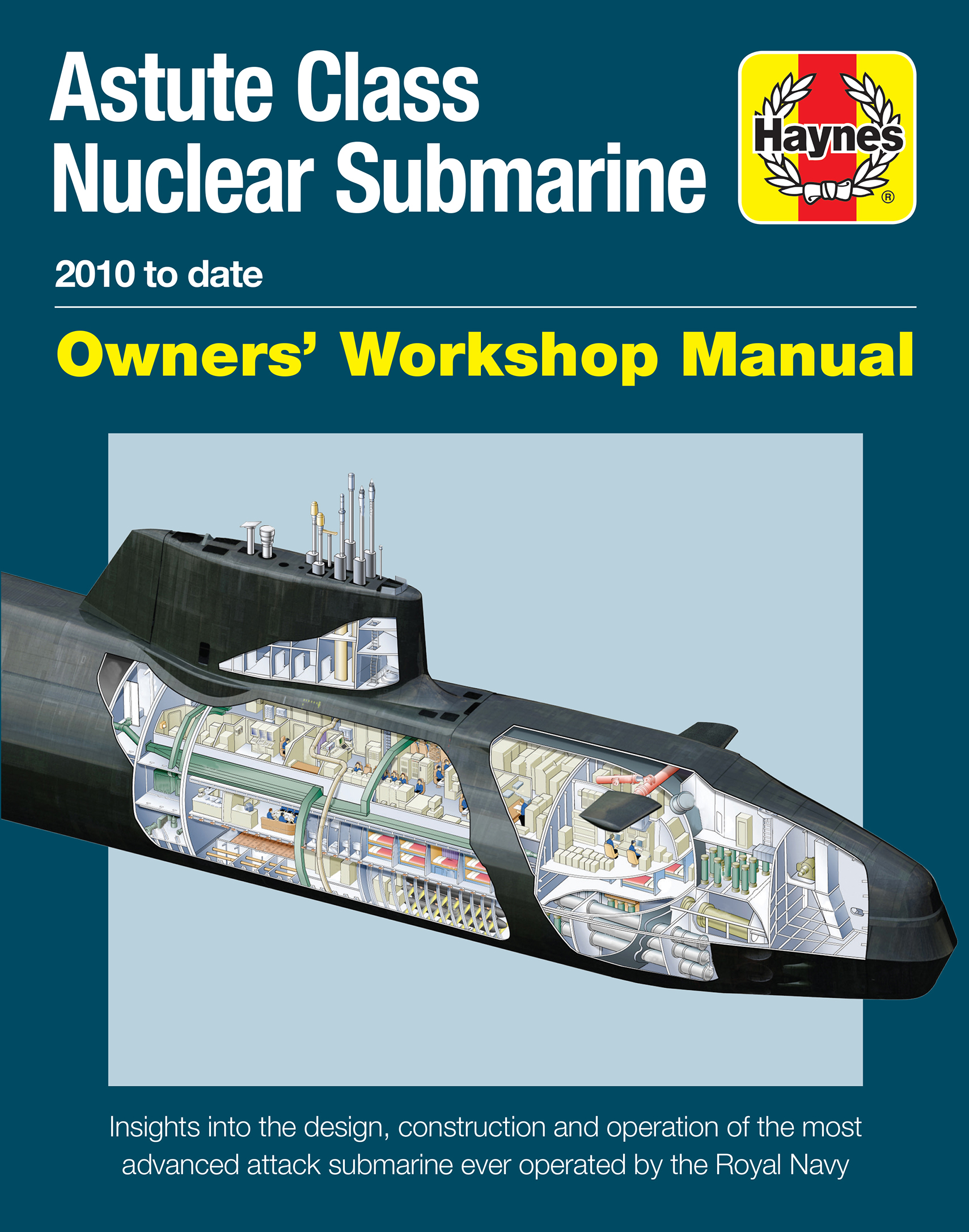 Astute Class Nuclear Submarine Manual