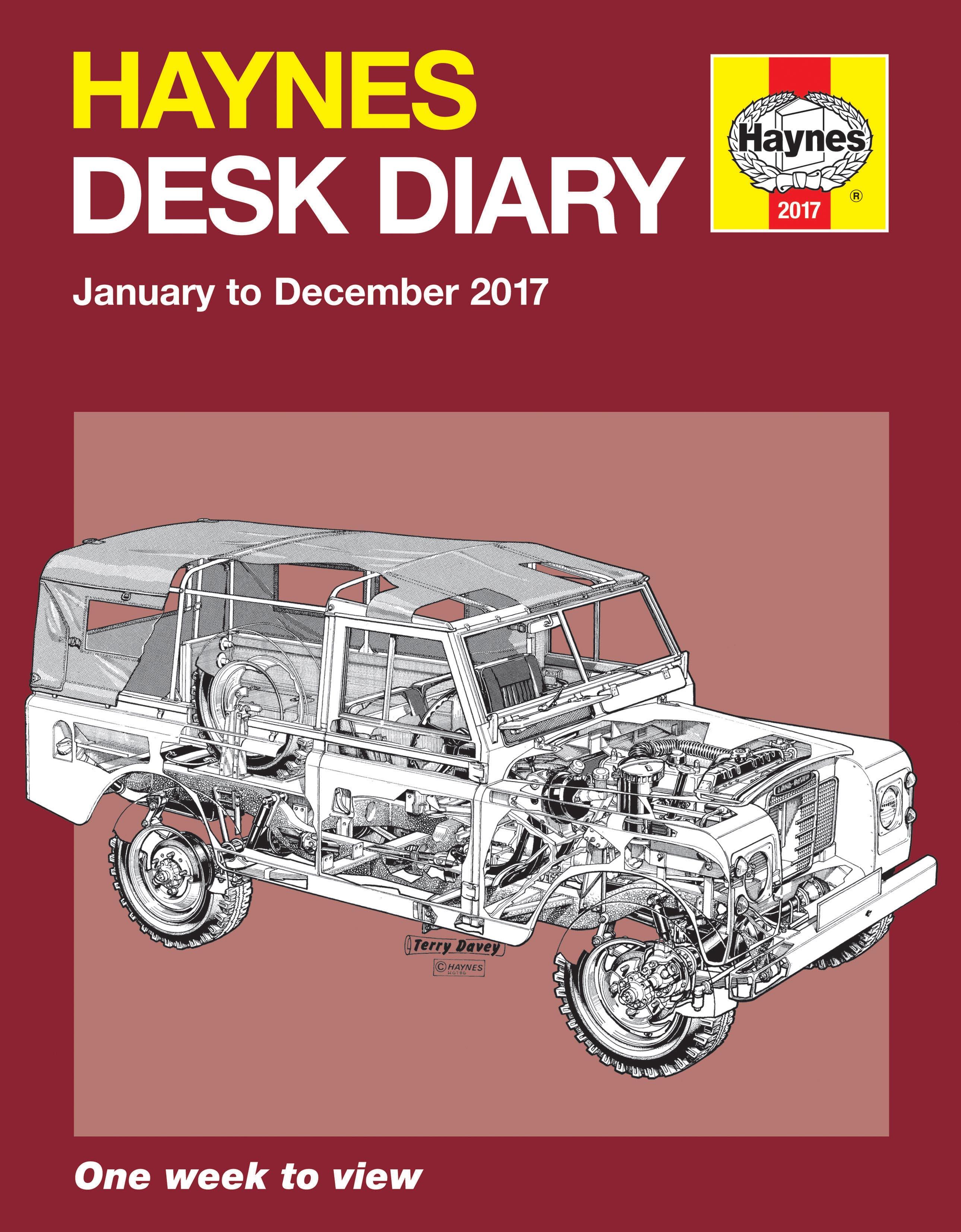 Haynes Desk Diary 2017