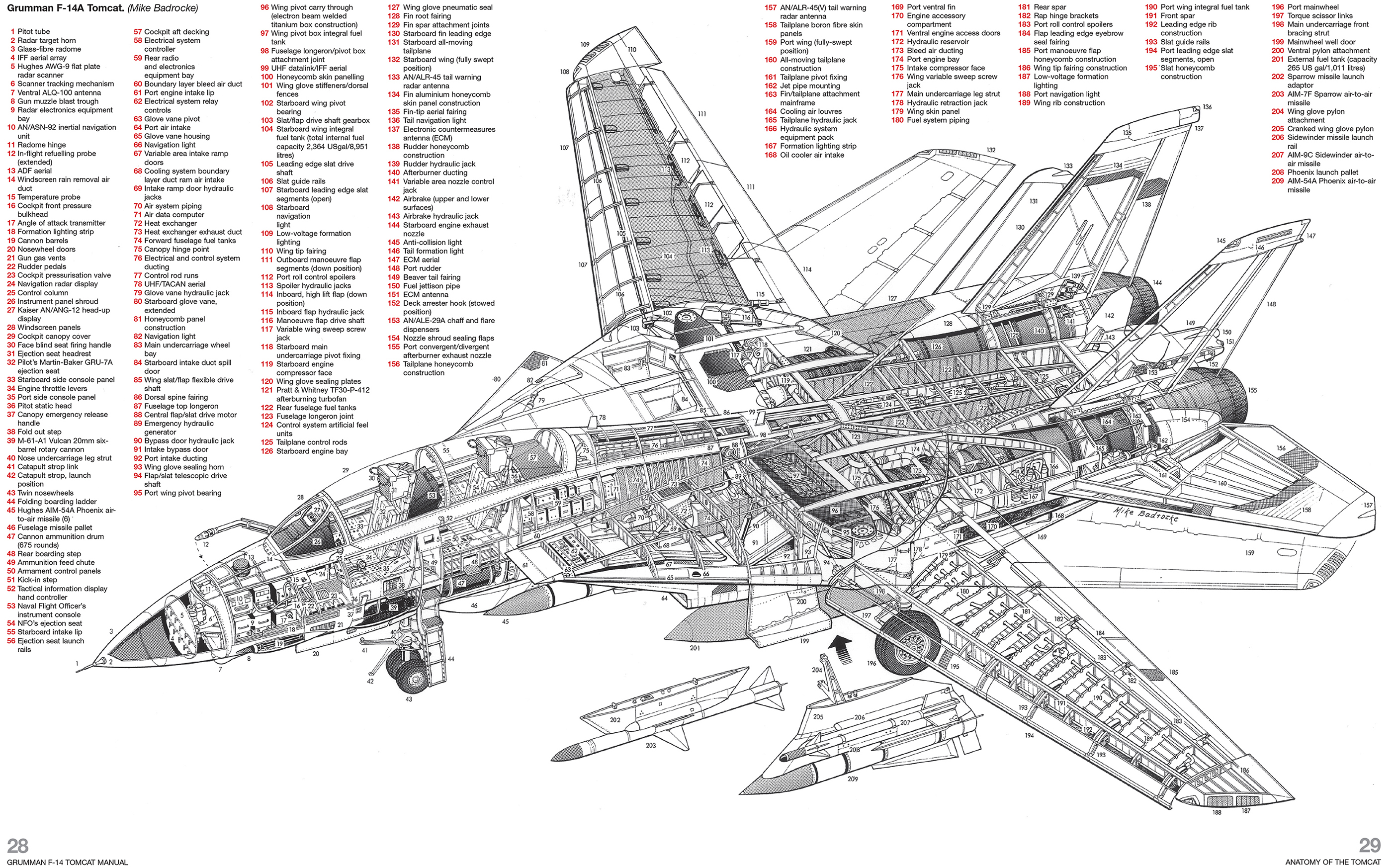 f 14 tomcat scematics pictures to pin on pinterest
