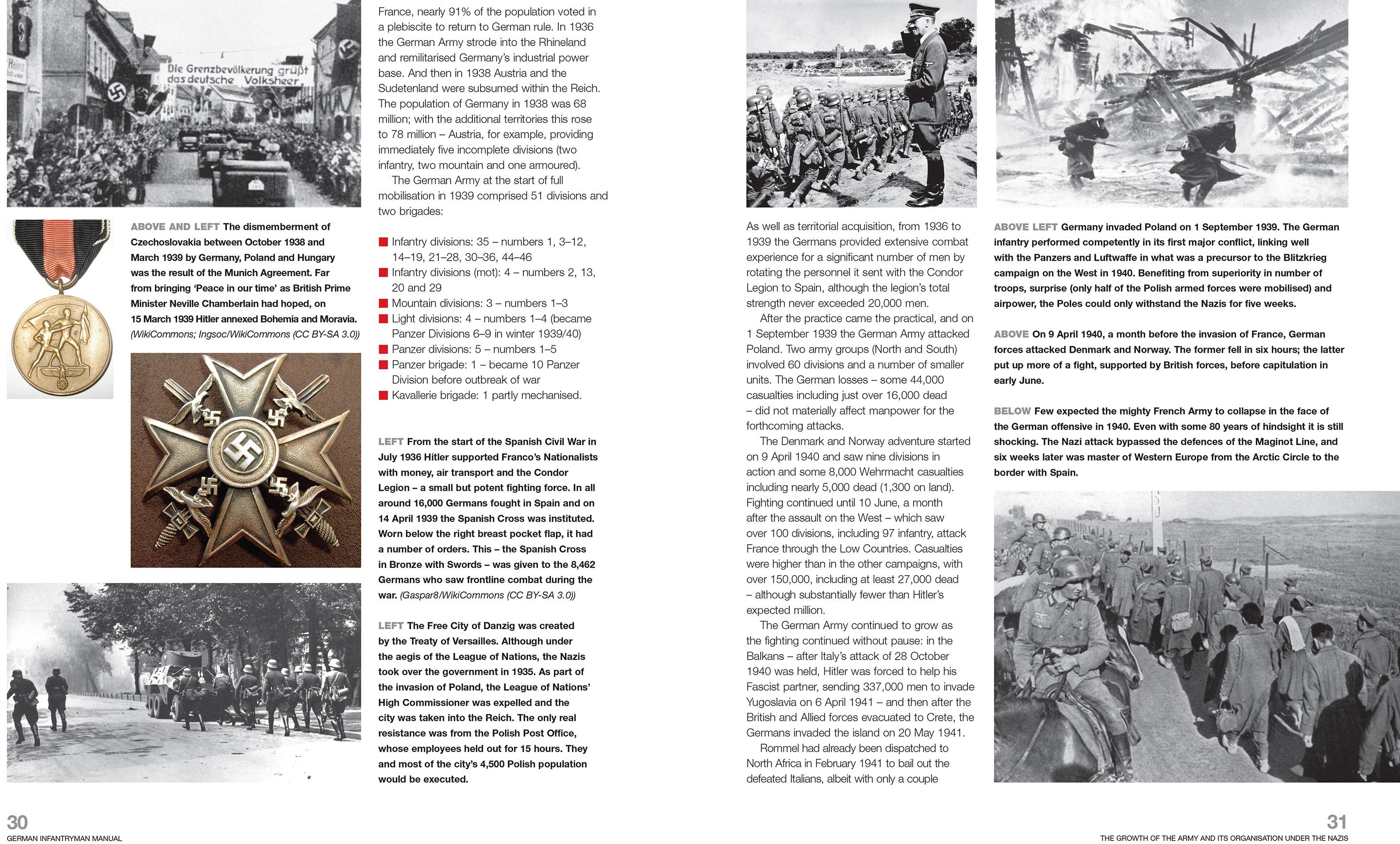 German Infantryman Manual Haynes Publishing