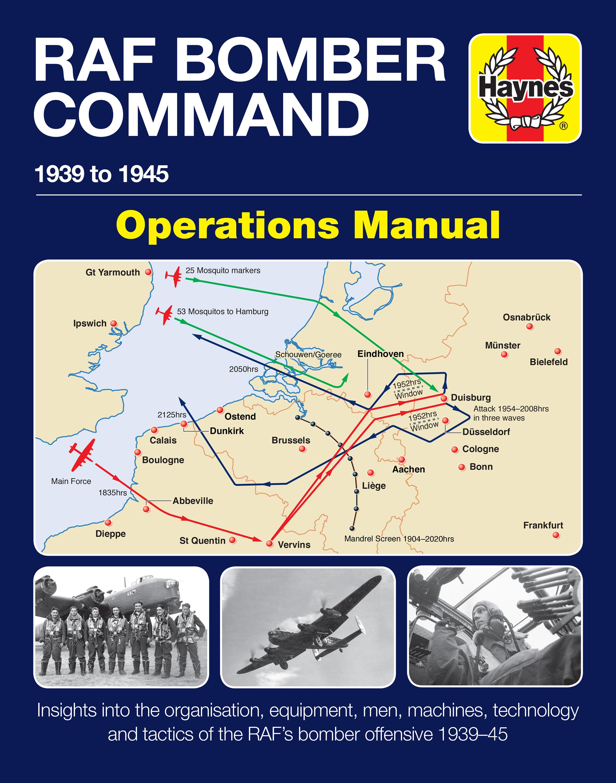 RAF Bomber Command Operations Manual | Haynes Publishing