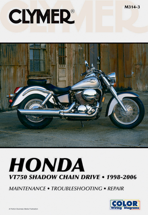 Honda VT750 Shadow Chain Drive Motorcycle (1998-2006) Service Repair Manual Online Manual