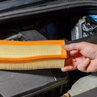 Air filter change Mazda 2 2002 - 2007 Diesel 1.4 D