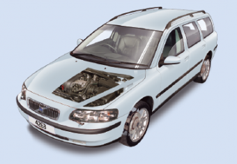 Volvo V70 & S80 routine maintenance guide (V70 1999 to 2007, S80 1998 to 2005) for petrol and diesel engines
