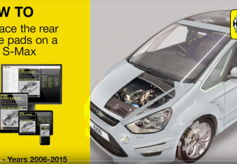 How to replace the rear brakes on a Ford S-Max and Ford Galaxy 2006-2015 models