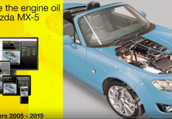 How to change the oil in a Mazda MX-5 (2005 to 2015 models)