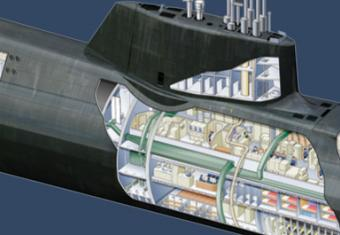 Haynes dives deep into the Astute Class Nuclear Submarine