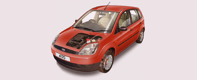 Ford Fiesta routine maintenance guide (2002 to 2008 petrol and
