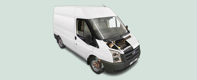 Ford Transit routine maintenance guide (2006 to 2013 models
