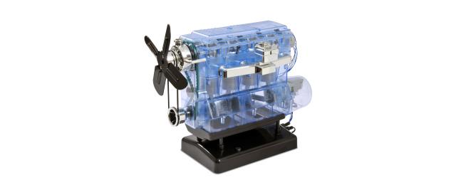 Timelapse: build your own miniature 4 Cylinder Engine