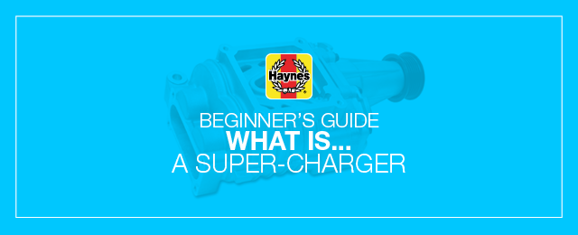 What is a car's super-charger?