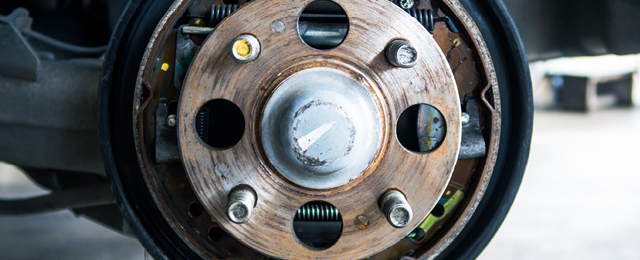 How to change the brake shoes on your car's rear drum brakes