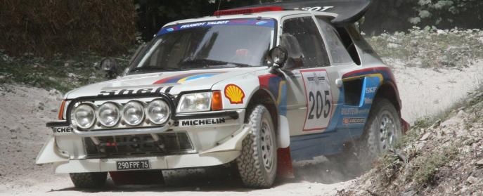 Peugeot 205 T16 Group B Rally Car