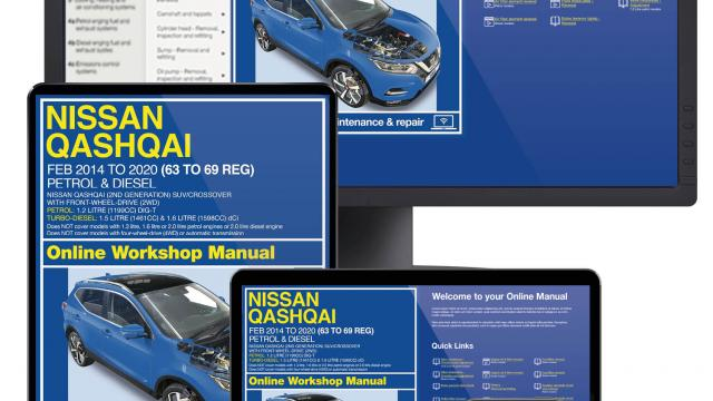 Nissan Qashqai repairs servicing