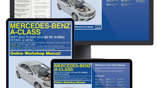 Mercedes A-Class service guide videos