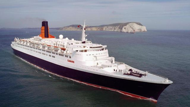 How the Queen Elizabeth 2 was designed and tested for the rigours of the sea
