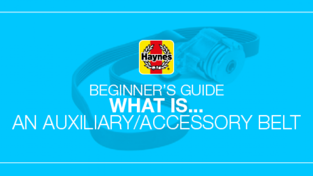 What is a car's accessory belt?