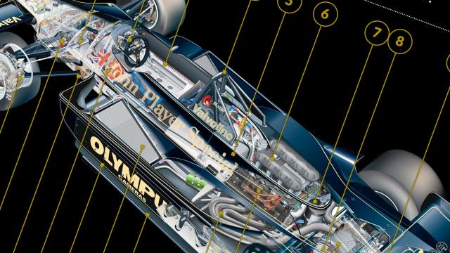 Lotus 79: a look inside this iconic F1 car