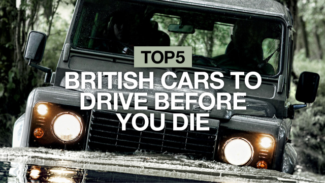 5 British cars to drive before you die