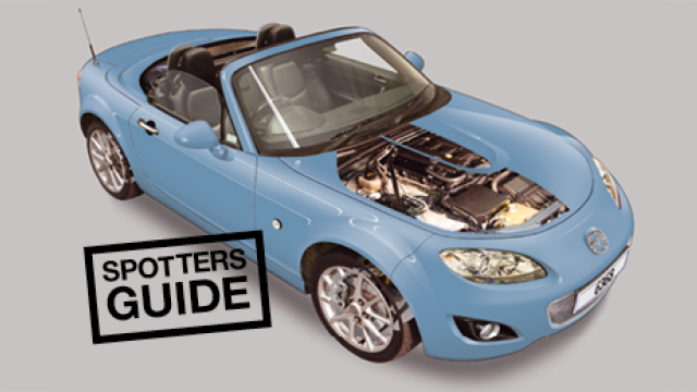 A spotter's guide to the Mazda MX-5