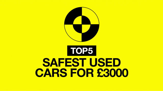 Top 5 safest used cars for £3000