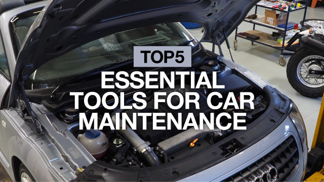 Top 5 essential tools for car maintenance